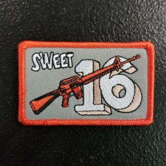 Sweet 16 Patch