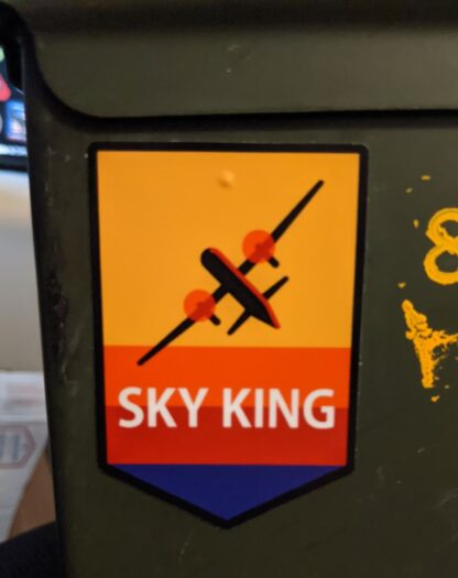 Sky King Sticker