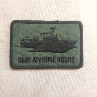Real Riverine Hours Patch